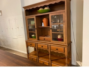 Amish Made Dining Buffet & Hutch