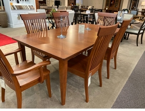 Amish Made Solid Cherry Dining Set