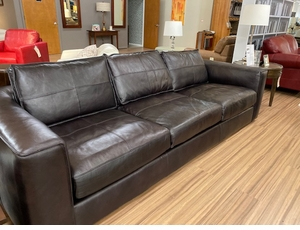 Analine Leather Large Sofa