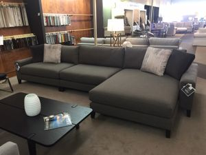 B Modern Terafina Sectional Sofa by Bassett