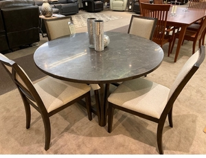 Bassett Blue Stone Top Dining Set