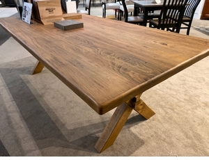 Bassett Cross Buck Dining Table