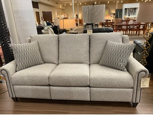 Bassett Custom Double Reclining Power Motion Sofa