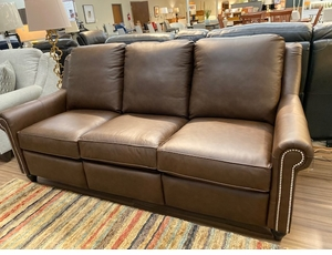 Bassett Custom Power Double Reclining Sofa