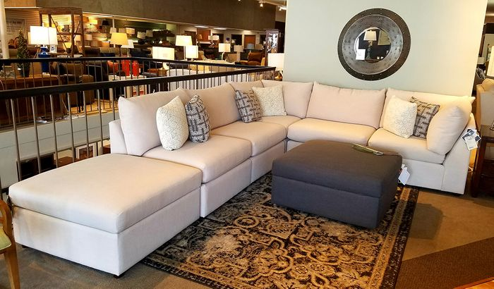 Beckham Sectional Sofa Set By Bassett Furniture Mega Clearance Sale