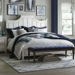 Bella Bed by Bassett Furniture