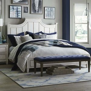 Bella Panel Bed by Bassett Furniture