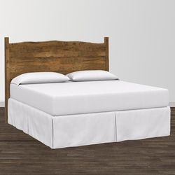 Benchmade Live Edge Solid Wood Maple Headboard by Bassett