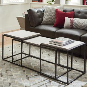 Boulder Bunching Table Set by Bassett Furniture