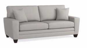 Canted Arm CU2 Sofa by Bassett Furniture