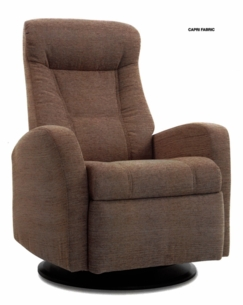 Capri Glider Rocker Recliner Large in Cashmere