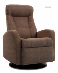 Capri Motorized Relaxer Recliner in Cashmere Standard Size