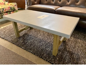 Cement Top Coffee Table