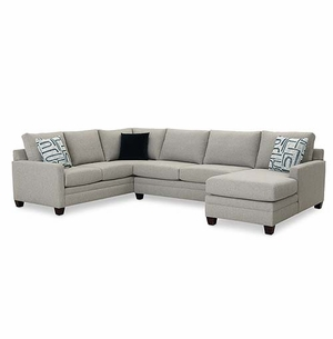 CU2 U Shaped Sectional By Bassett Furniture