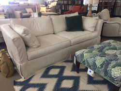 SOLD!  Darby Sofa with Slipcover  by Rowe Furniture