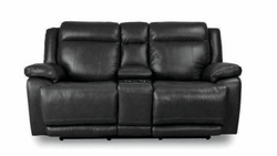 Evo Loveseat with Power and Console by Bassett