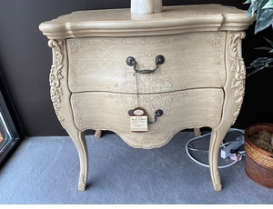 French 2 drawer chest