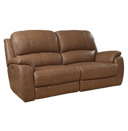 Godfrey Motion Sofa with Power Recliners by Bassett