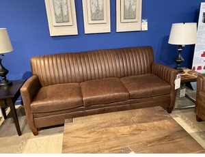 Leather Sofa by Bradington Young