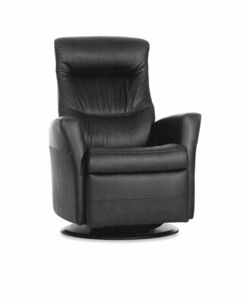 Lord Motorized Recliner in Anthracite Leather Standard Size