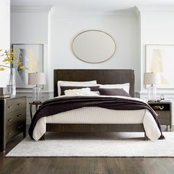 Modern Catalina Panel Bed by Bassett Furniture
