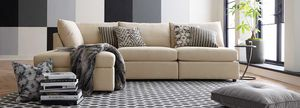 Beckham Chaise Sectional Sofa by Bassett