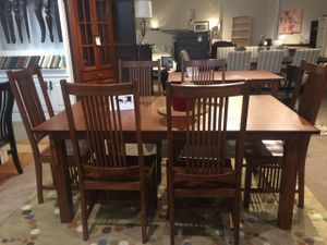 Mission Dining Set in Solid Quarter Sawn Oak