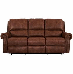 Norwood Sofa with Power Recliners by Bassett