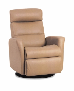 Paradise Motorized Recliner in Sand Fabric Large Size