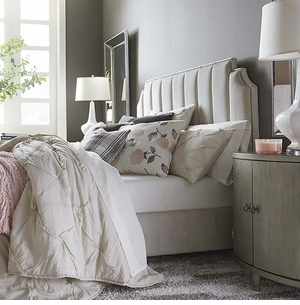 Princeton Upholstered Bed by Bassett Furniture