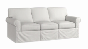 Raleigh Slipcover Sofa by Bassett Furniture