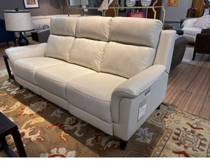 Reclining Electric Motion Leather Sofa