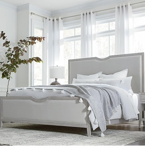 Savoy Upholstered Bed by Bassett Furniture