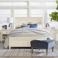 Shoreline Panel Storage Bed by Bassett Furniture