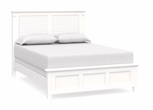 Shoreline Queen Louvered Bed
