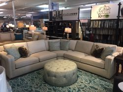 SOLD! Sophie Sectional Sofa by Sam Moore