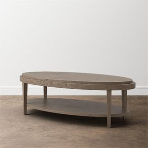 Ventura Oval Coffee Table by Bassett Furniture