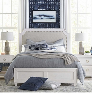 Ventura Upholstered Bed by Bassett Furniture