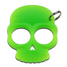 BK-11GN Green Skull Key Chain Knuckle