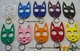 Black Cat Self Defense Keychain