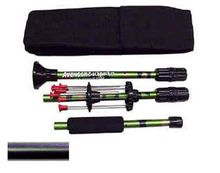 "Blowgun 24"" Backpacker 3 piece .40 caliber also 36 inch"