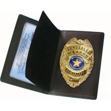 CCW Badge and Wallet Set