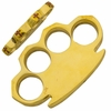 Super Heavy Real Brass Knuckles 12+ Ounces (Free LetterOpenerSet)