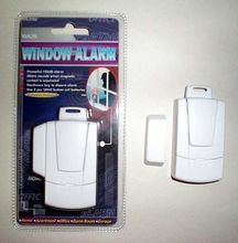 Home Self Defense: Window Alarms, w Key WA28