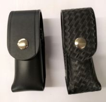 Leather Pepper Spray Chemical Holder with Clip