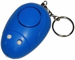 Mini Keychain Alarm Pull Pin Flashlight Mouse PL-11