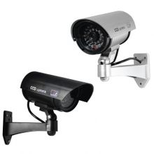 Fake Security Camera with led lights