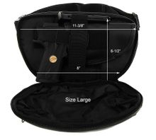 Pistol Fanny Pack Leather Roma