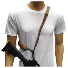 Rifle Sling Single Point Bungee Black