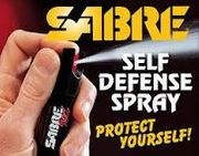 Sabre Jogger Pepper Spray OC Red